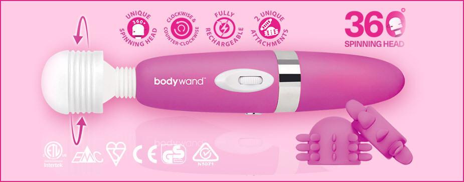 BodyWand handheld massagers