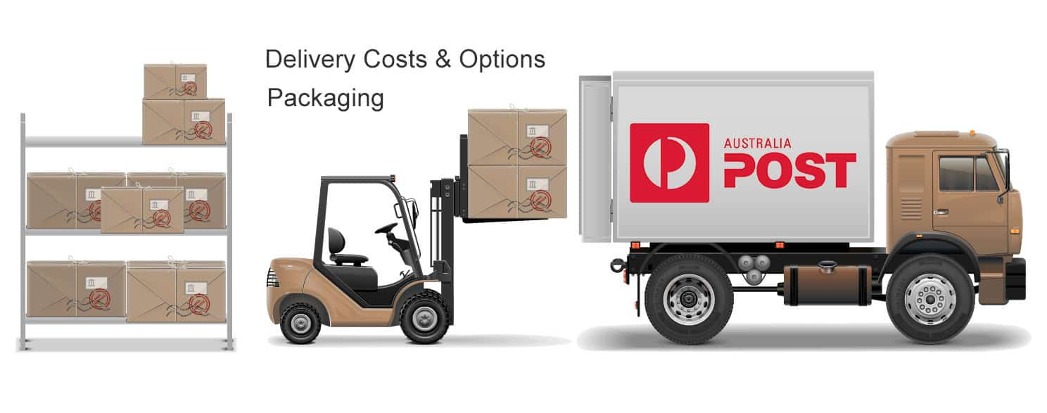 Delivery Costs Options Packaging