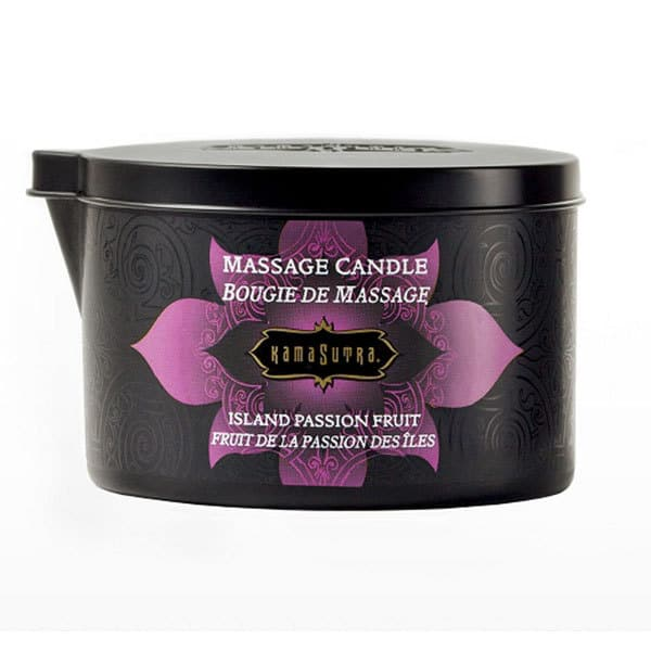 Kama Sutra Massage Oil Candle (Island Passion Berry)