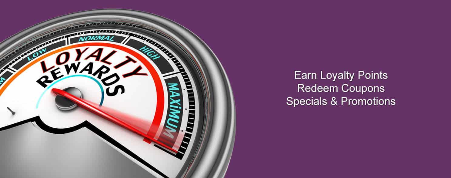 Specials Coupons Loyalty Rewards