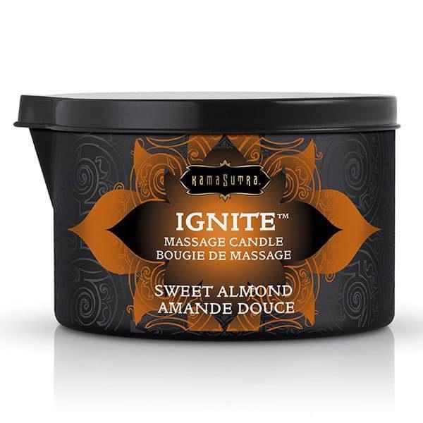 Kama Sutra IGNITE Massage Oil Candle (Sweet Almond)