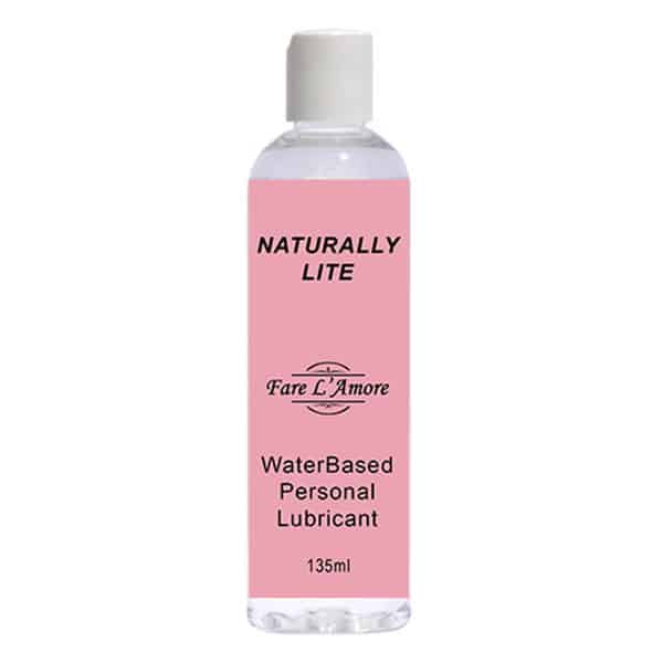 Fare L'Amore Naturally Lite Water Based Personal Lubricant 135ml
