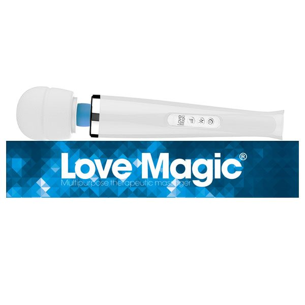 Love Magic Plus White | Massage Wands | Rechargeable Massagers