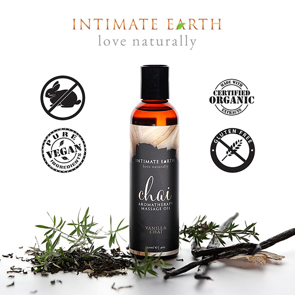 Intimate Earth | Vanilla Chai | Massage Oils
