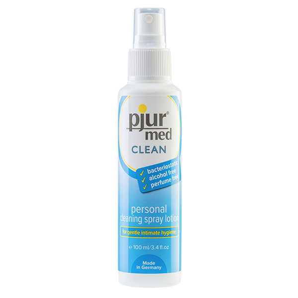 Pjur Med Clean Spray (100mL) | Antibacterial Wand Cleaners