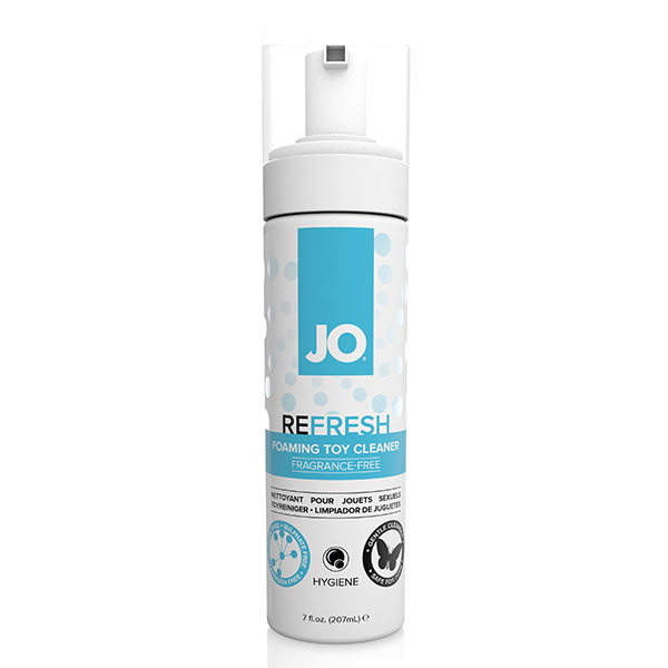 System JO Refresh Foaming Toy Cleaner | Massage Wand Cleaners